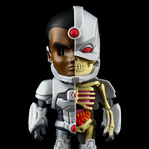 "Mighty Jaxx x Jason Freeny x DC Comics - 4"" XXRAY Cyborg"