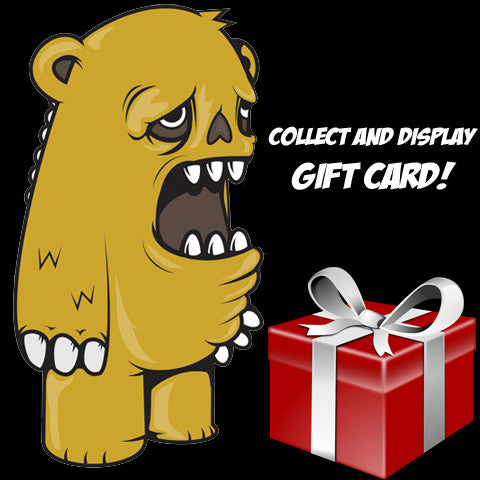 Collect and Display Gift Card