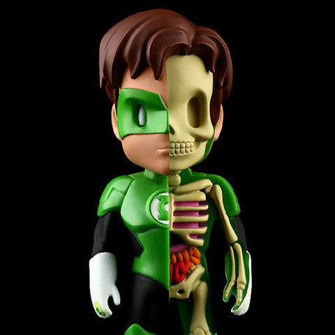 "Mighty Jaxx x Jason Freeny x DC Comics - 4"" XXRAY Green Lantern"