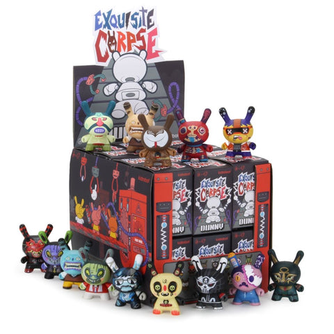 "Kidrobot x Red Mutuca Studios - 3"" Exquisite Corpse Dunny Series (Blind Box) - Collect and Display"