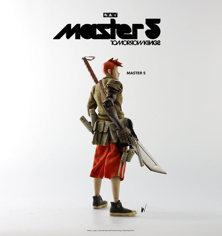 "ThreeA x Ashley Wood - 13"" Tomorrow Kings Master 5"