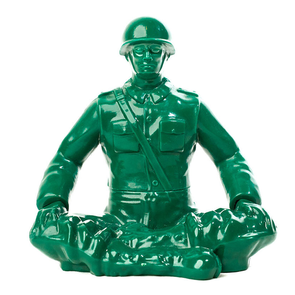 "Humango Inc - 5"" Big Meditation Yoga Joe - Collect and Display"