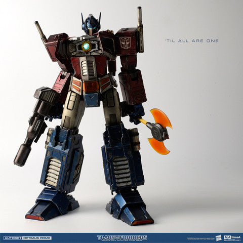 "ThreeA x Hasbro - 16"" Transformers Generation One (Optimus Prime Classic Edition)"