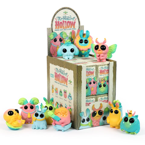 "Chris Ryniak x Amanda Louise Spayd - 3"" Thimblestump Hollow 'Birthday Party' (Blind Box) - Collect and Display"
