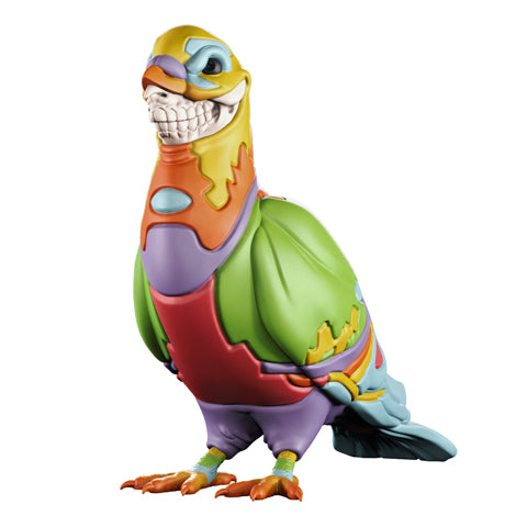 "Ron English x Mighty Jaxx - 8"" Staple Pigeon Grin - Collect and Display"