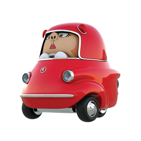 Rollis Scoot - Scootacar (Ruby Red)