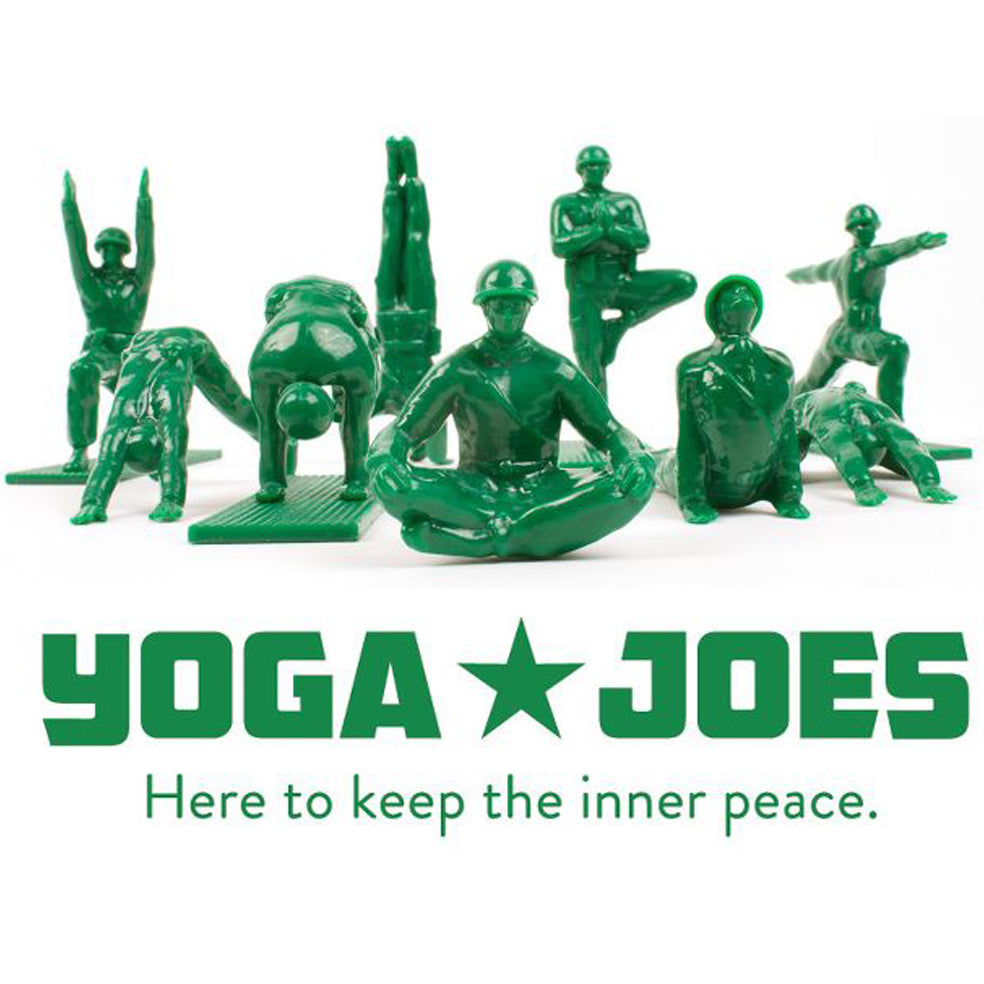 "Humango Inc - 3"" Yoga Joes Series 1 - Collect and Display"