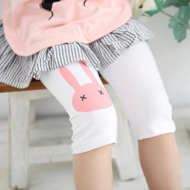 Girls Rabbit Capri - LeggingStocks