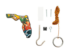 Florida Tiki Toss Hook and Ring Game