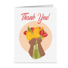 Load image into Gallery viewer, Handful of Flowers -Thank You Cards