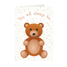 Load image into Gallery viewer, Teddy Bear - My Cuddle Bear - Greeting Card