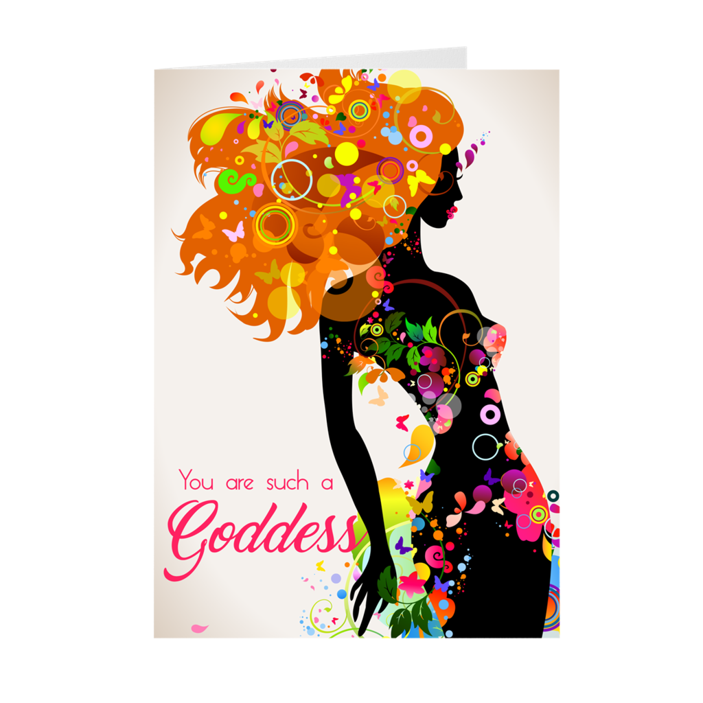 You Are Such A Goddess - African American Woman - Birthday Card