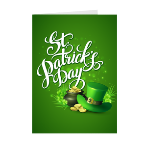 St. Patrick's Day Lucky Charm - Green - Greeting Card