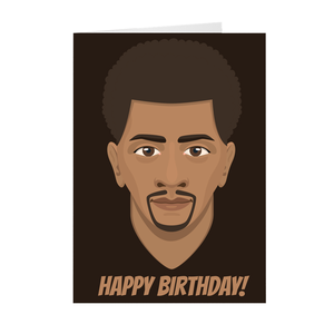 Happy Birthday - African-American Male Birthday - Greeting Card