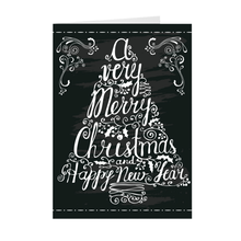 Load image into Gallery viewer, A Merry Christmas - Tree - Christmas Greeting Card