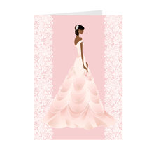 Load image into Gallery viewer, African-American Bride - Wedding Greeting Cards
