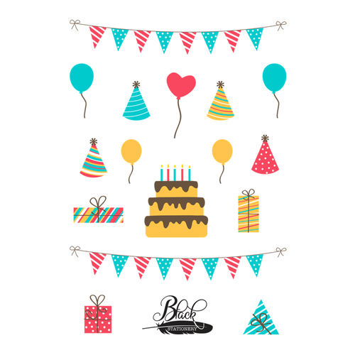 Happy Birthday To You Premium Stickers