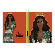 Load image into Gallery viewer, Intuition - African American Princess Hardcover Journal