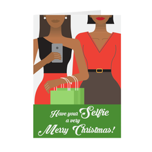 Load image into Gallery viewer, Selfie Merry Christmas Greeting Card