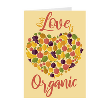 Load image into Gallery viewer, Orange - Fruit & Veggies - Our Love Is Organic Greeting Card