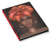 Load image into Gallery viewer, African American Queen Turban Journal