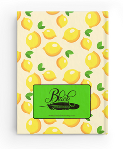 Attitude of Gratitude - Lemon - Hardcover Journal