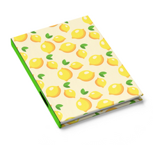 Load image into Gallery viewer, Attitude of Gratitude - Lemon - Hardcover Journal