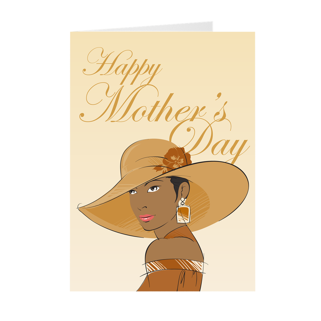 Mom Style - African American Mother's Day Greeting Card