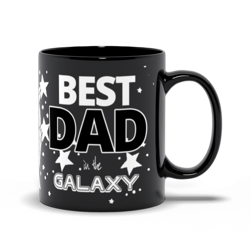 Best Day in the Galaxy - Stars - Father Black Mugs