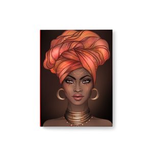 African American Queen Turban Journal