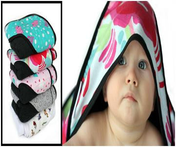 Snap to Fit Infant Hooded Towel