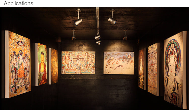 art gallery track lighting. track lighting is quite versatile and commonly used in museumgalleries commercial art studio lightingledingthelife offers complete gallery