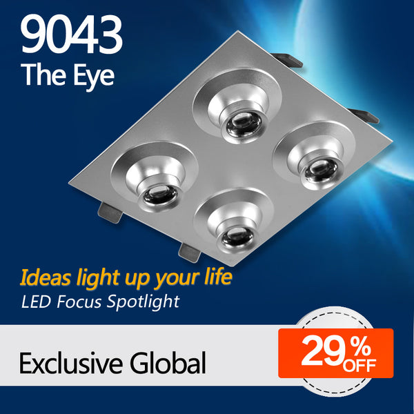 9043 the eye LED focus lighting fixture for decoration lighting