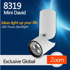 8319 Mini David Dimmable LED Focus Spotlight For Dining Room