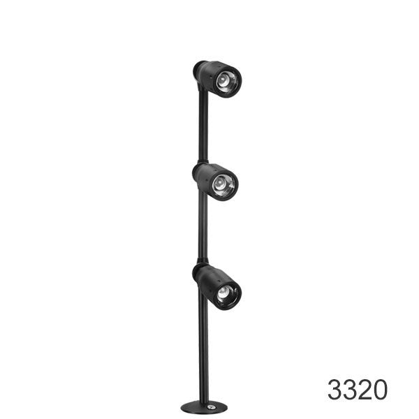 3320 led retail display light with adjustable spotlight From LEDingthelife