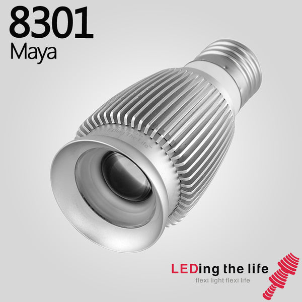 8301 Maya E27 LED focus spotlight for living room lighting