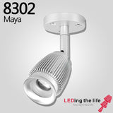 8302D Maya LED focus spotlight for museum lighting,Triac dimmable version 110V/220V