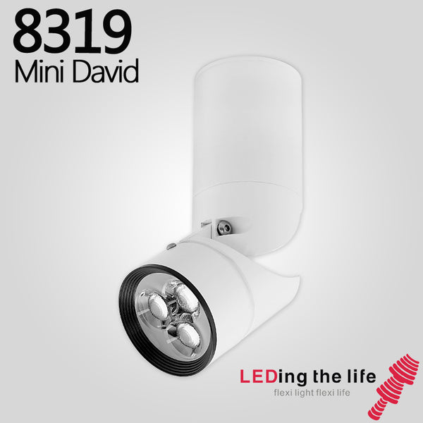 8319 Mini David Surface Mounted LED Focus Spotlight For Dining Room