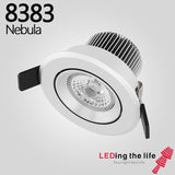 8383 Nebula,7W Under Cabinet LED recessed spot Lighting,Anti-glare function