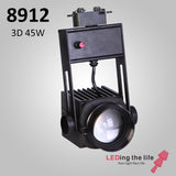 8912 Hasselblad 3D ,45W,3D-Focusable Museum Track Light  For Museum Lighting ,0-10V Dimmable,15°~43°