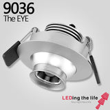 9036 the eye LED focus lighting fixture for Museum lighting