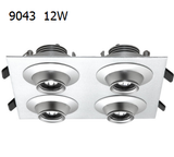 9043 The Eye 12w focusable four head led downlight square from ledingthelife