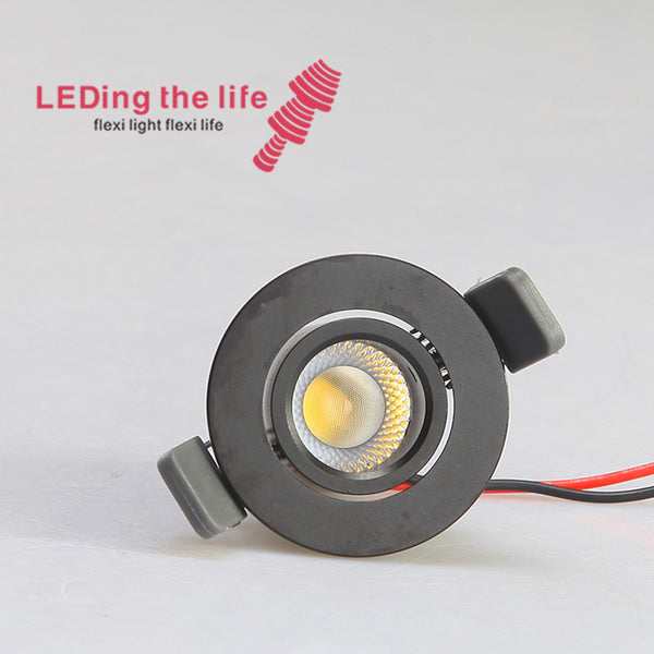 9078 1w led light source led aluminum lamp led recessed spotlightg for carpark lighting 9 degrees beam angle 42mm