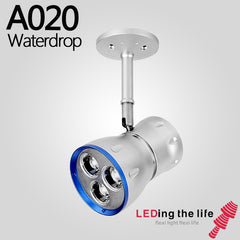 A020 Waterdrop LED focus spotlight for Art Gallery lighting