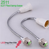 2511 E27 lamp holder with flexible pipe application
