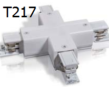 T217 X-CON  X Type connector for 2/3/4 wires track