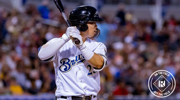 On The Field x Off The Field: Featuring Brewers #1 Prospect, Keston Hiura