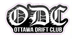 ODC Lettering Sticker
