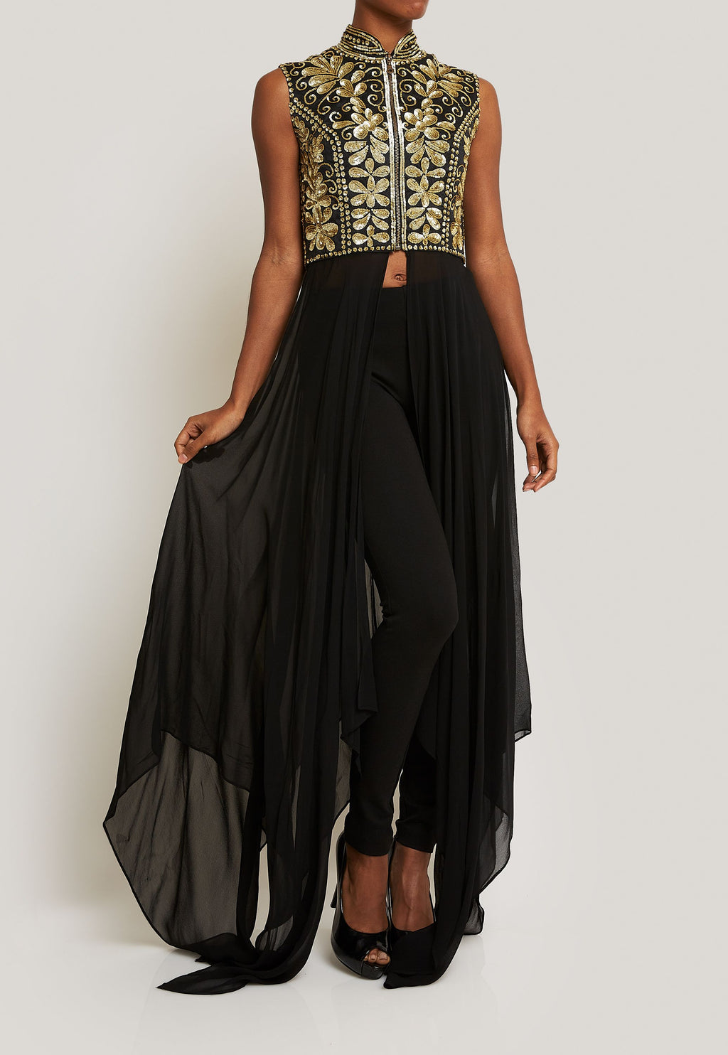BLACK AND GOLD ENSEMBLE