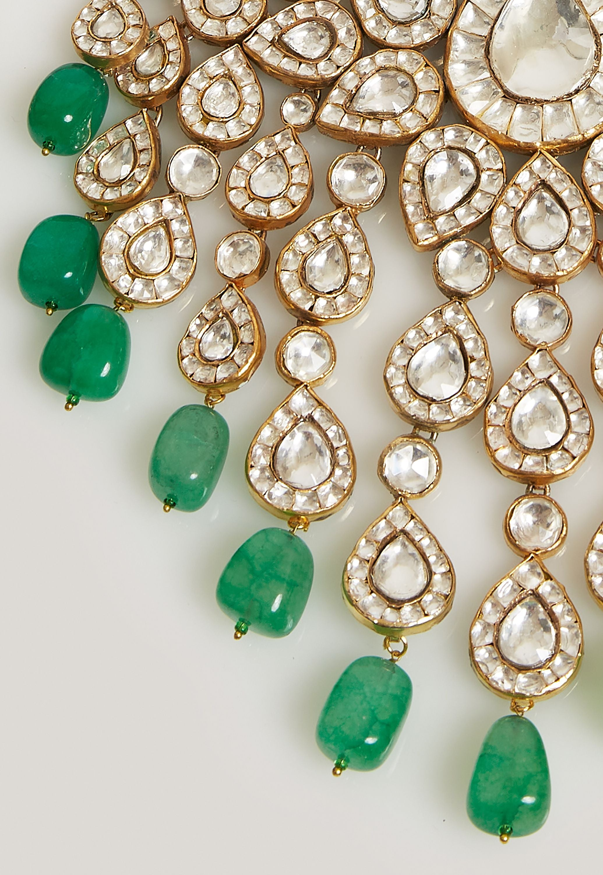 STUNNING EMERALD GREEN JEWELRY SET